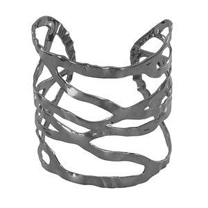 Bracelete escultural